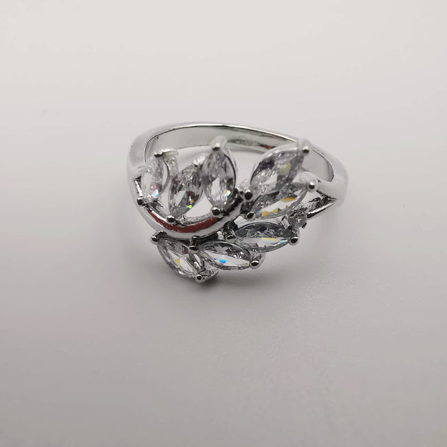 Design 5 - Silver Color Fashion Accessory Ring [R004] - Offer Hunts