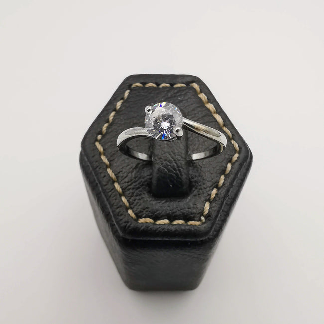 Design 8 - Silver Color Fashion Accessory Ring [R007] - Offer Hunts