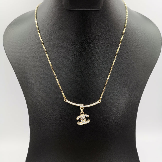 ChaneI Necklace - Golden and Silver - Offer Hunts