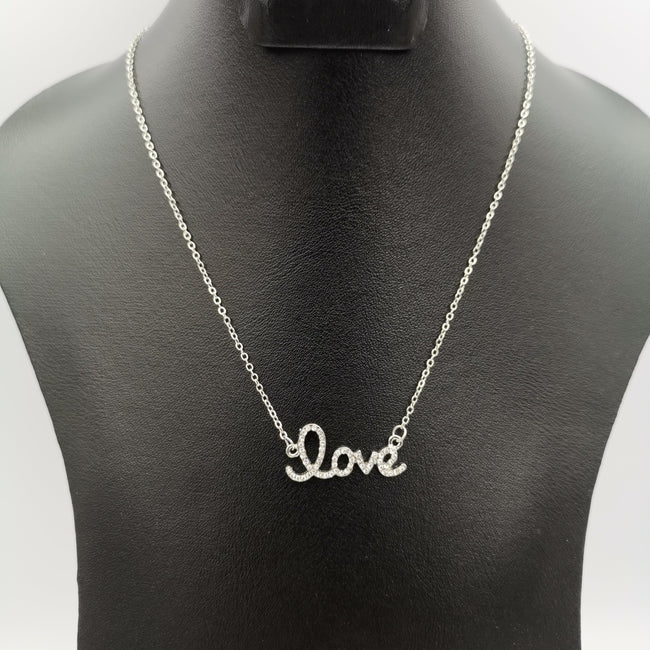 Love Necklace - Golden and Silver - Offer Hunts