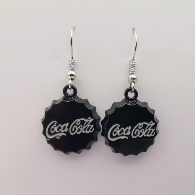 Coca-Cola Medium Size Dangling Earrings - Multiple Colors - Offer Hunts