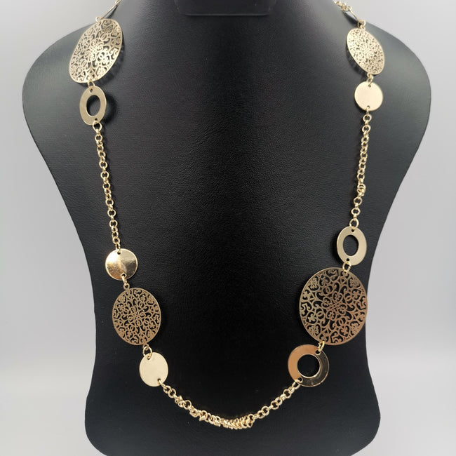 Persian Passion Necklace - Golden and Silver - Offer Hunts