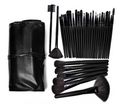 32 Pieces Professional Makeup Brush Set with Bag - Offer Hunts