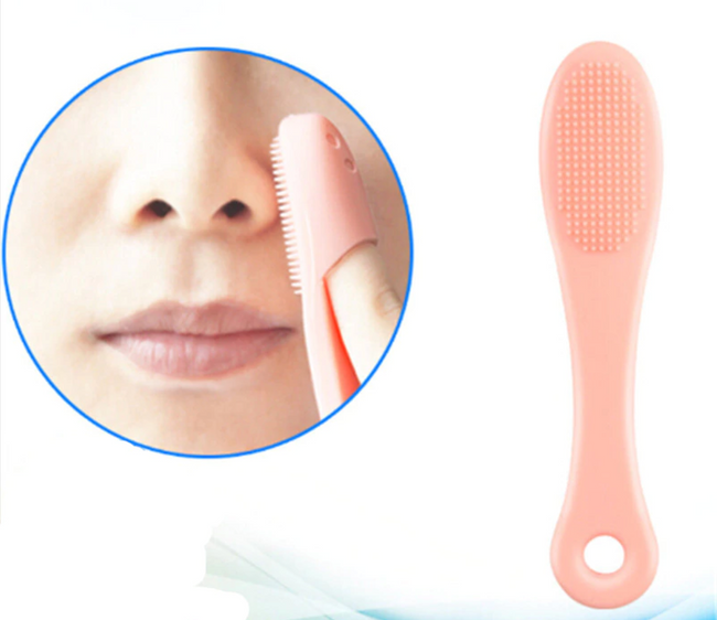Silicone Face Scrub Cleaner for Blackhead Removal and Massage - Offer Hunts