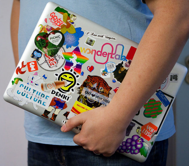 Fruit Sticker Patches (4 Stickers) DIY For Bags, Laptops, Clothing and any Material - Offer Hunts
