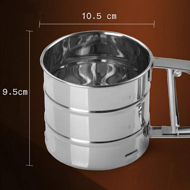 Stainless Mesh Flour Sifter - Offer Hunts