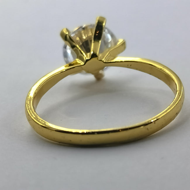 Exquisite Elegance Ring - 5 Prongs and One Stone - Offer Hunts