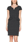 Black Dotted Dress - Comma - Offer Hunts
