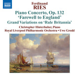 Ries, Ferdinand: Piano Concerto No. 7 in A minor, Op.132; Abschieds-Concert von England [Study Edition] (AE449/SE)