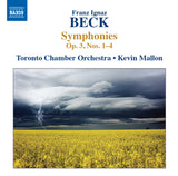 Beck, Franz: Symphony in G minor, Op. 3, No. 3 (Callen 15) ( AE185)
