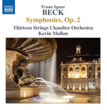 Beck, Franz: Symphony in G minor, Op. 2, No. 2 (Callen 8) (AE190)