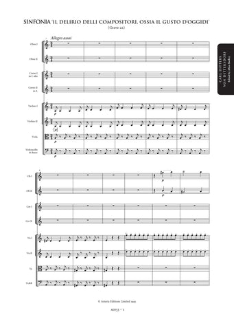 Dittersdorf, Carl Ditters von: Symphonies Vol. 1: 3 Characteristic Symphonies (=AE033-035) (AED1)