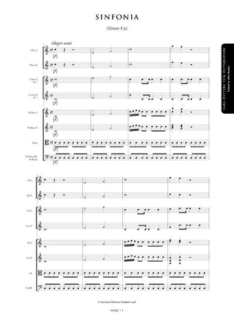 Dittersdorf, Carl Ditters von: Symphony in C major (Grave C5) (AE135)