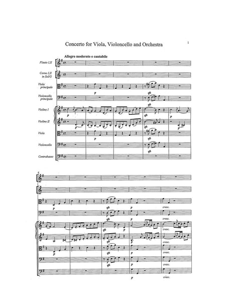 Kraus, Joseph Martin: Concerto for Viola & Cello in G, VB153a