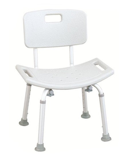 White Foldable bath safety Chair For Disabled and elderly adult