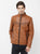 Cotton Nation Men's Full Sleeve Jacket ,Camel