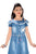 Flower Girl Girls Denim Dress  Denim Blue ,MCG366G19