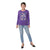 Genius Girls Full Sleeves T-Shirt, Purple