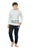 Genius Boys Full Sleeves Sweat Shirt With Track Pant,White/Black