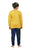 Genius Boys Full Sleeves Sweat Shirt With Track Pant,Mustard/Navy
