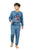 Genius Boys Full Sleeves Sweat Shirt With Track Pant,Blue