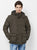 Nexgen Club Mens Long Sleeve Jacket With Hood , Khaki