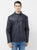 Cotton Nation Men's Full Sleeve Jacket ,Navy