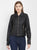 Cotton Nation Ladies Full Sleeve PU Leather Jacket,Black