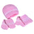 Smart Baby Baby Girls Boxed Gift Set,Pink/White