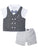 Wonderchild Infant Boys 3pcs Set, Grey/White