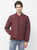 Nexgen Club Mens Long Sleeve Jacket , Burgandy