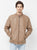 Cotton Nation Men's Full Sleeve Jacket ,Beige