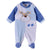 Smart Baby Baby Boys Sleepsuit With Feet,White/Blue