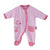 Smart Baby Baby Girls Sleepsuit With Feet,Baby Pink