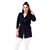 Step N Style Women Full Sleeve Shrug ,  Black
