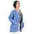Step N Style Women full Sleeve Shrug , Blue