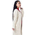 Step N Style Women Full Sleeve Shrug , Beige