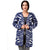 Step N Style Women Women Full Sleeve Shrug, Multi Blue