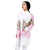Step N Style Women Full Sleeve Shrug , Multi Pink