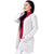 Step N Style Women Full Sleeve Shrug ,  Multi Off White