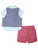 Wonderchild Infant Boys 3pcs Set, Blue/ Red