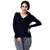 Step N Style Women Full Sleeve Sweater , Black