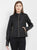 Cotton Nation Ladies Full Sleeve PU Leather Jacket, Black