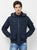 Nexgen Club Mens Long Sleeve Jacket With Hood, Navy