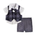 Wonderchild Infant Boys 3pcs Set, Navy/White/Grey