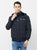 Nexgen Club Men's Long Sleeve Jacket with Hood ,Navy