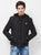 Nexgen Club Men's Long Sleeve Jacket with Hood ,Black