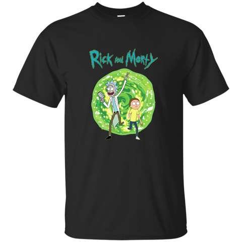 Rick and Morty Portal T-Shirt, Hoodie, Tank