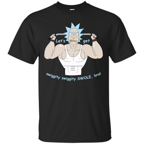 Rick and Morty Gym - Big Rick Swole Patrol T-shirt, Tank top