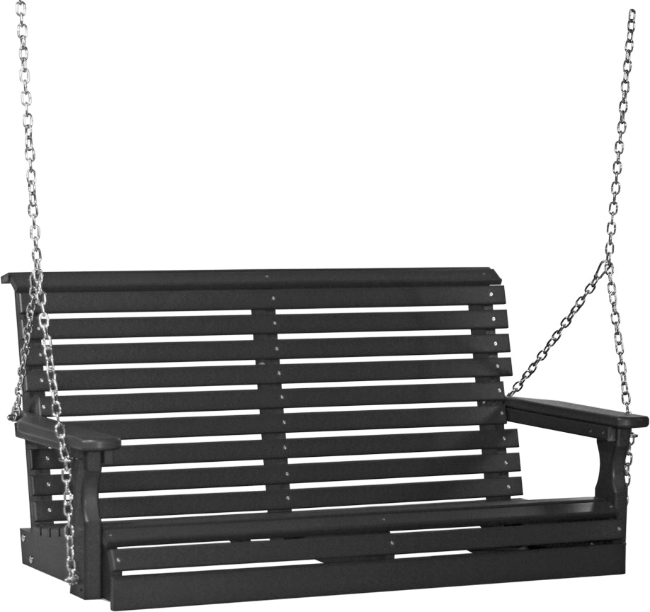 4' Poly Plain Swing